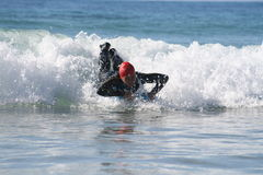 Bodyboarding foto de stock royalty free