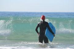 Bodyboarding Royalty Free Stock Images