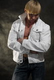 bodybuilder μοντέρνος Στοκ φωτογραφίες με δικαίωμα ελεύθερης χρήσης