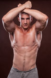 bodybuilder νεολαίες Στοκ Εικόνες