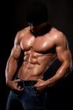 Bodybuilder. Immagini Stock