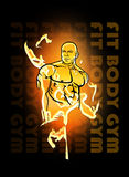 Bodybuilder Obraz Royalty Free