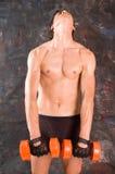 Bodybuilder stockbild