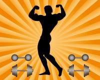 Bodybuilder Stock Abbildung