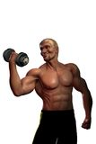 Bodybuilder stockbild