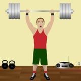 Bodybuilder Διανυσματική απεικόνιση