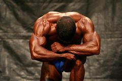 Bodybuilder Royalty Free Stock Photo