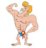 Bodybuilder royalty illustrazione gratis