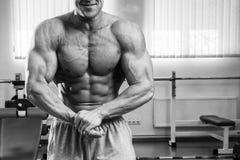 Bodybuilder Stockfoto