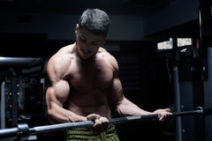 Bodybuilder stock foto