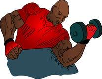 bodybuilder απεικόνιση στοκ εικόνες