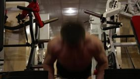 Bodybuilder stock footage