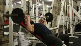 Bodybuilder stock footage