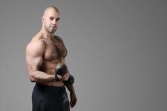 Bodybuilder fotografie stock libere da diritti