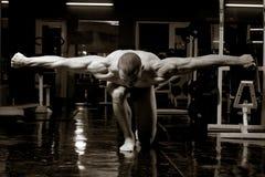 Bodybuilder artistico Fotografia Stock Libera da Diritti