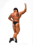 The bodybuilder back Royalty Free Stock Images