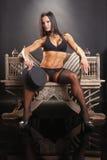 Bodybuilder class Stock Images