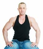 Bodybuilder d'homme Photos libres de droits
