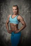 Bodybuilder de femme Photo stock