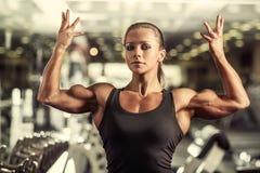 Bodybuilder de femme Image stock