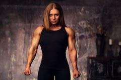 Bodybuilder de femme images stock
