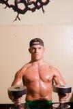 Bodybuilder del debuttante fotografie stock libere da diritti