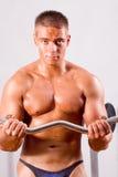 Bodybuilder do novato fotos de stock royalty free