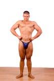 Bodybuilder do novato imagem de stock royalty free