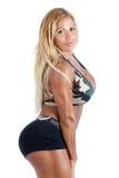 Bodybuilder fêmea Imagens de Stock