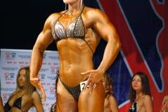 Bodybuilder, femmes Image stock