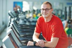 Bodybuilder fitness man coach Stock Image