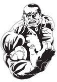 Bodybuilder fuerte Imagen de archivo libre de regalías