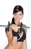 bodybuilder kobieta fotografia stock