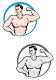 Bodybuilder man Royalty Free Stock Photos