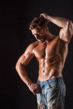 Bodybuilder man Stock Photography