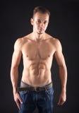 Bodybuilder man Stock Images