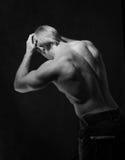 Bodybuilder masculino Imagenes de archivo