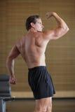 Bodybuilder pose Royalty Free Stock Images