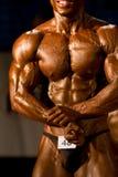 Bodybuilder posing Royalty Free Stock Image