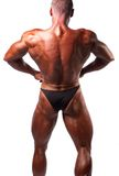 Bodybuilder posing Stock Photos