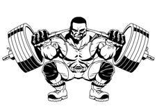 Bodybuilder sporty Zdjęcia Stock