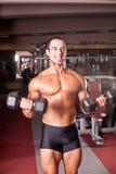 Bodybuilder szkolenie Zdjęcie Royalty Free