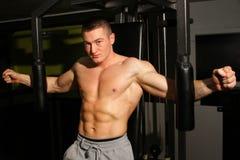 Bodybuilder szkolenie fotografia royalty free
