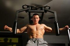 Bodybuilder szkolenie fotografia stock