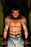 Bodybuilder szkolenie obraz stock