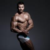 bodybuilder target313_0_ Obrazy Royalty Free