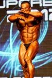 Bodybuilder target910_0_ Fotografia Royalty Free