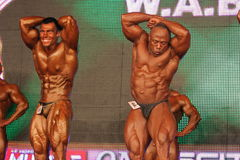 bodybuilders Obraz Royalty Free