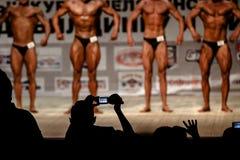 Bodybuilders brouillés photo libre de droits