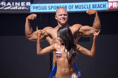 Bodybuilders Stock Images